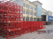 Mast Building Construction Hoist Parts Customized Color Painting