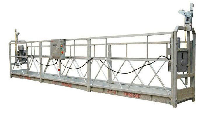Convenient Suspended Working Platform For Glass Curtain Wall Installation