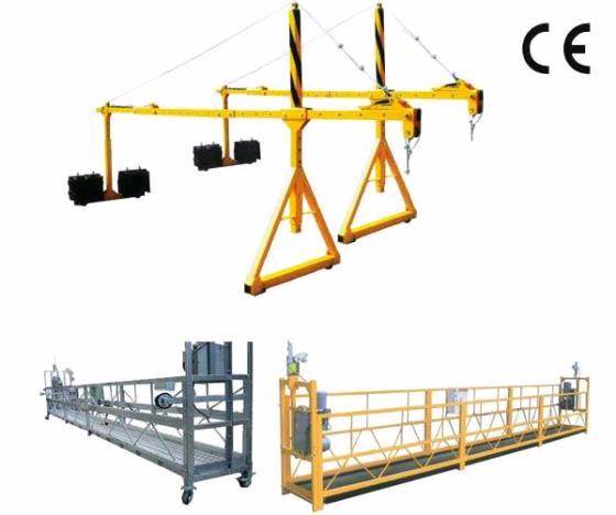 Personalized Adjustable Steel Suspended Working Platform with Dipping Zinc