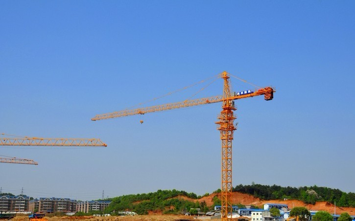 8 Tons Tower Crane QTZ80(6010) Luffing Crane WITH Safety Structure and Competitive Price